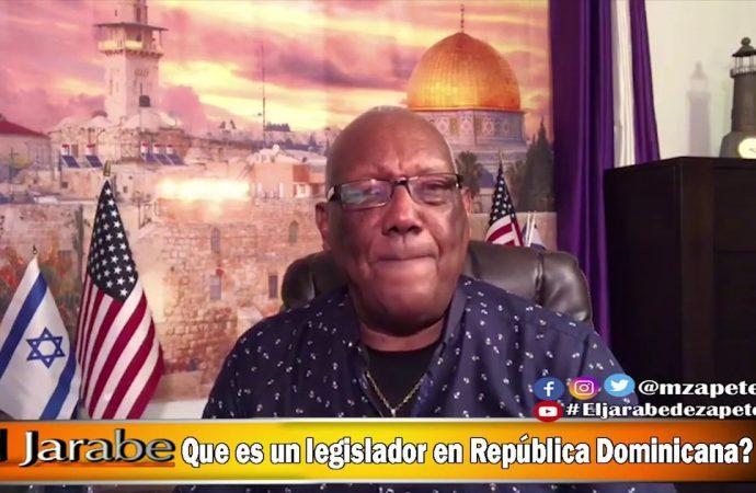 Que es un legislador en República Dominicana? | El Jarabe Seg-4 09/06/20