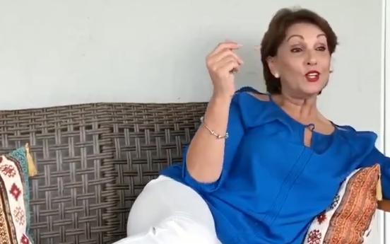 Cecilia García está cansada de gobiernos ladrones