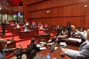 Los senadores aprobaron en 25 minutos un presupuesto de RD$150 mil millones