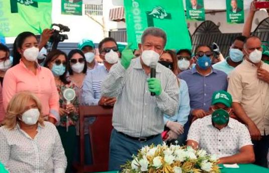 Leonel denuncia aumento de pruebas COVID-19 para incitar abstención electoral