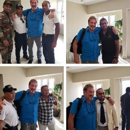 """John McAfee se burla de """"cómo escapó de la cárcel en República Dominicana"""""""