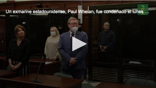 Rusia condena a 16 años de cárcel a un estadounidense por espionaje