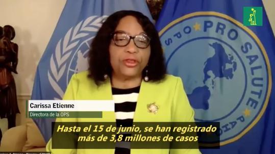 OPS: pandemia se sigue acelerando en América Latina