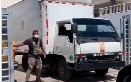 Junta aclara que camión con su logo no pertenece a la institución