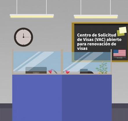 El Centro de Atención de Visas está procesando casos que no requieren entrevista