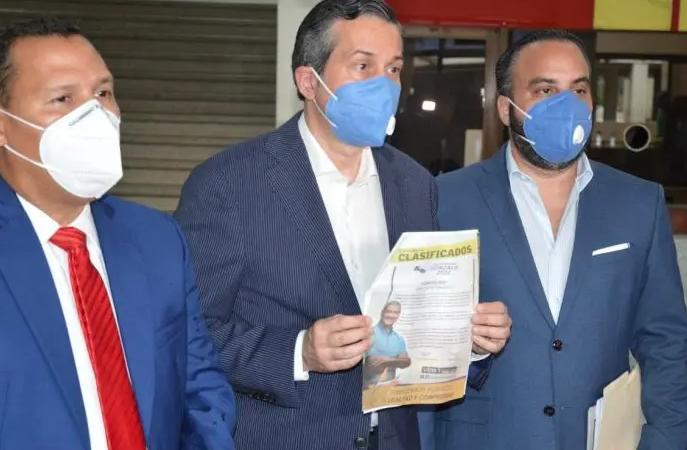 PRM somete grupo de Gonzalo ante Procuraduría Fiscal Electoral