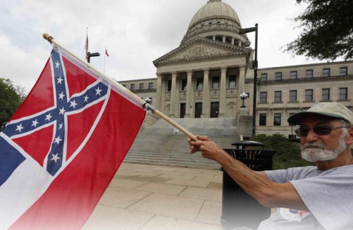 Votarán para eliminar símbolo de la Confederación de la bandera de Mississippi