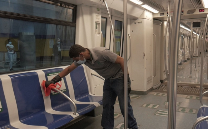 Los horarios de servicio del Metro y el Teleférico tras fin toque de queda