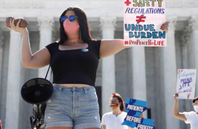 Supremo de Estados Unidos desestima una ley que restringía el aborto en Louisiana