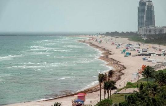 Primeros turistas del postconfinamiento comienzan a llegar a Miami Beach