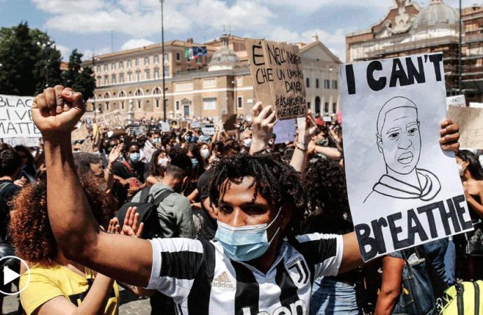 La protesta contra el racismo se vuelve global
