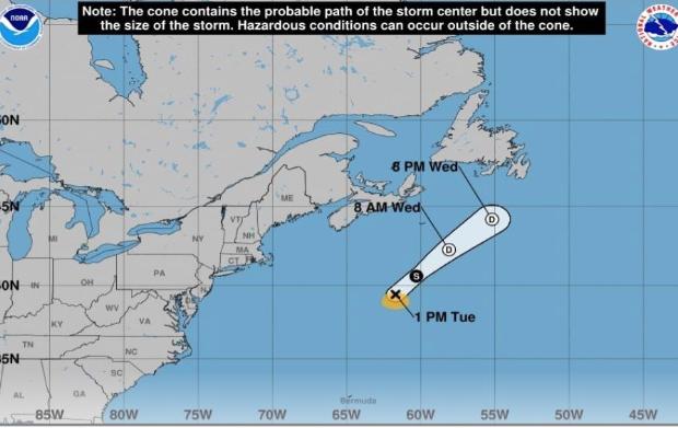 El Atlántico produce su cuarto ciclón en el 2020: la tormenta tropical Dolly