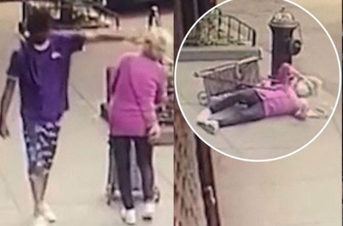 {VIDEO} Joven agredió anciana 92 años en Manhattan ha sido arrestado 103 veces