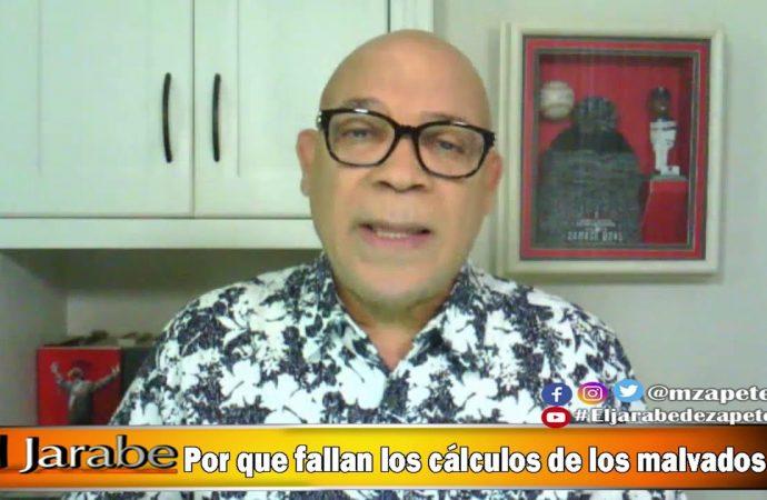 Por que fallan los cálculos de los malvados | El Jarabe Seg-1 12/06/20