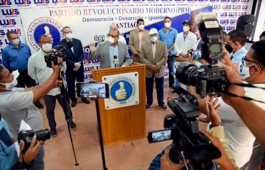 PRM dice gobierno reprobó en manejo de COVID-19