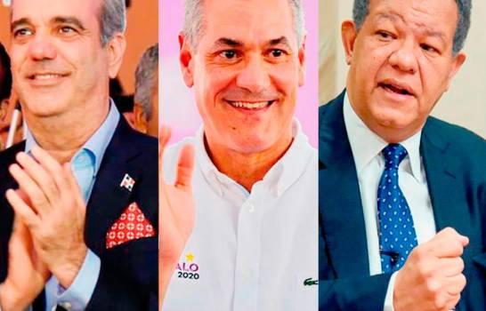 Encuesta Greenberg-Diario Libre: Abinader 56 %, Gonzalo 29 % y Leonel 12 %