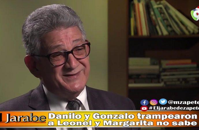 Danilo y Gonzalo trampearon a Leonel y Margarita no sabe | El Jarabe Seg-3 02/06/20
