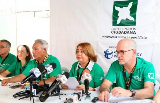 Participación Ciudadana denuncia uso y abuso de los recursos del Estado en campaña electoral