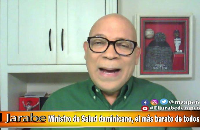 Ministro de Salud dominicano, el más barato de todos | El Jarabe Seg-2 17/06/20