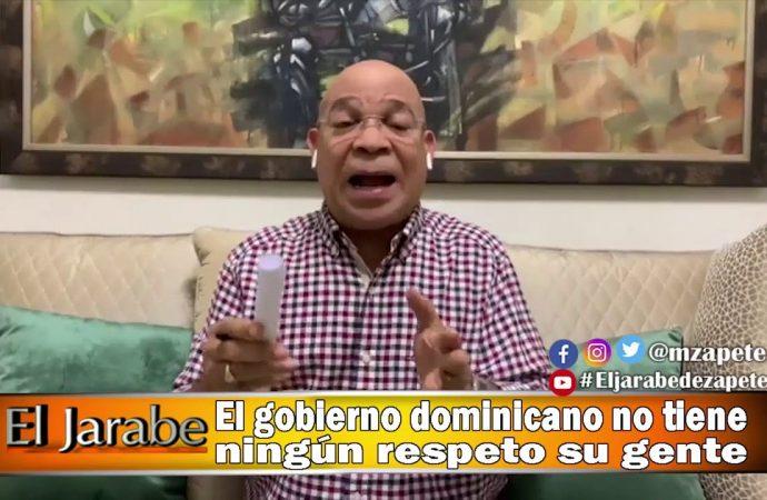 El gobierno dominicano no tiene ningún respeto por su gente | El Jarabe Seg-3 03/04/20