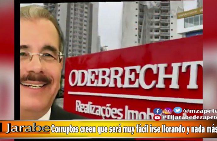 Corruptos creen que será muy fácil irse llorando y nada más   El Jarabe Seg-4 29/06/20