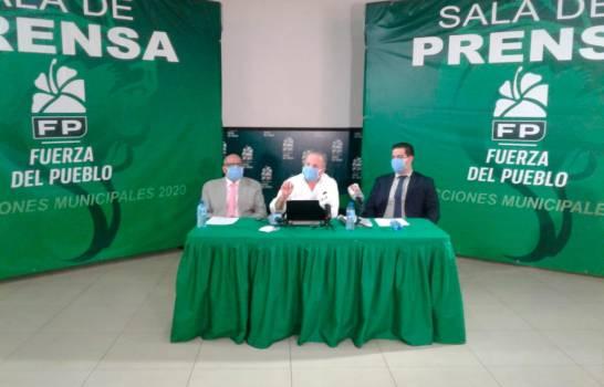 Fuerza del Pueblo acusa al Gobierno de financiar la campaña del candidato oficialista