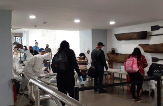 COVID-19: Pocos pasajeros procedentes del exterior traen resultados prueba PCR