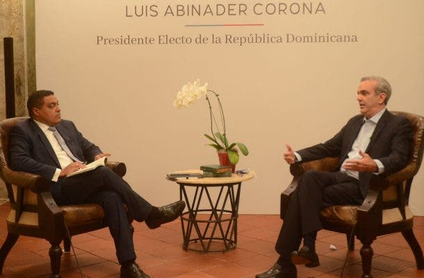 Luis Abinader promete no habrá borrón y cuenta nueva
