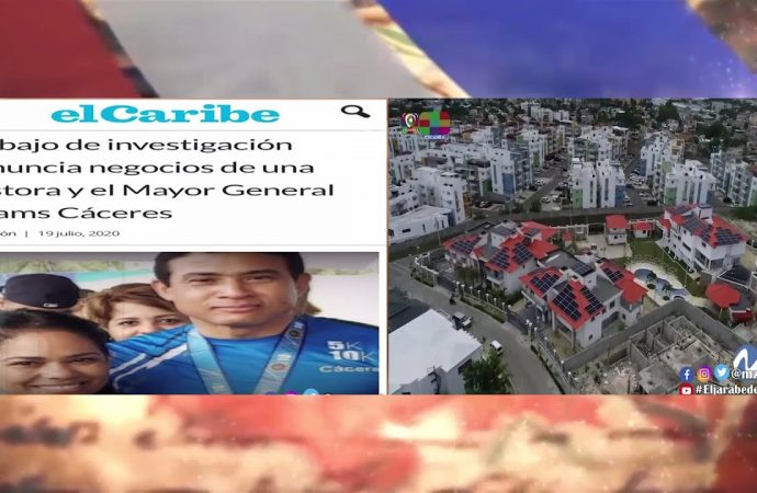 Escandalo involucra a la pastora Rossy Guzmán y al general Adam Cáceres   El Jarabe Seg-2 20/07/20