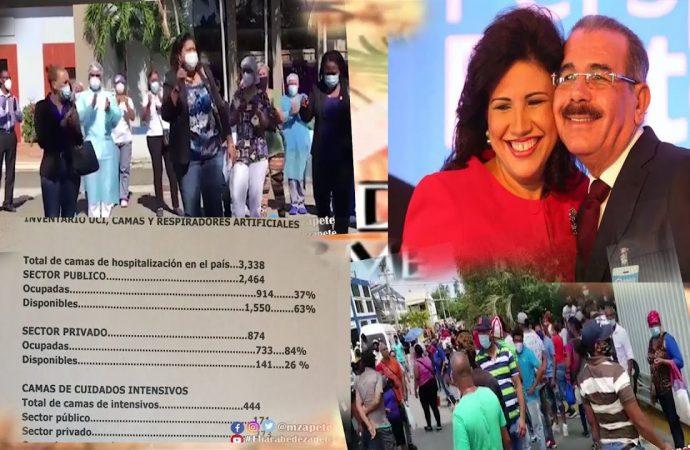 Danilo y Margarita hicieron un tollo con el Covid 19 | El Jarabe Seg-1 17/07/20