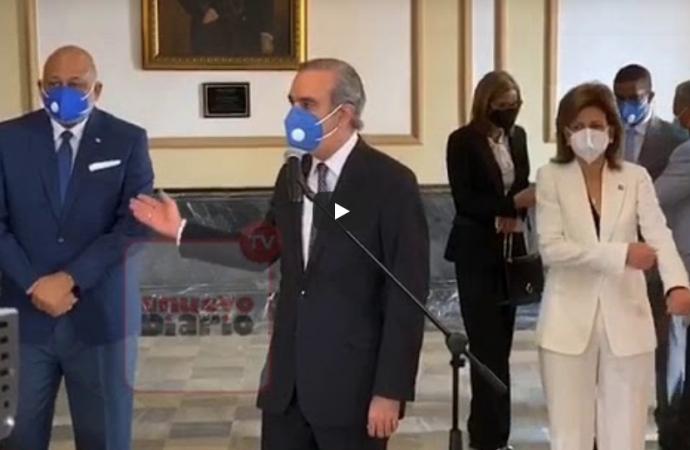 Lo que dijo Abinader después de reunirse con Danilo Medina