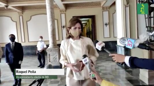 Raquel Peña dice que mañana inician inventario de camas y medicamentos para tratar el COVID-19