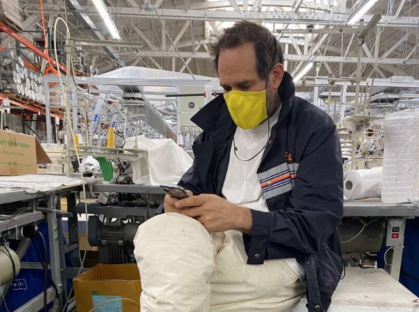 Fábrica de ropa en Los Ángeles cierra después de más de 300 casos de coronavirus