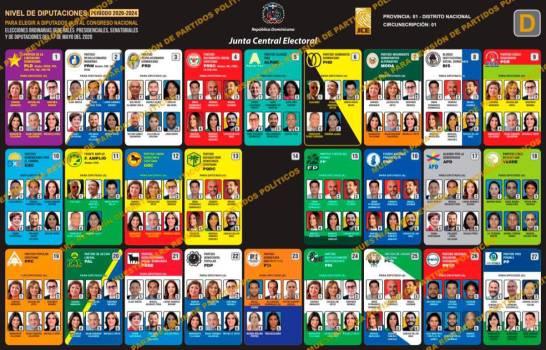 Los posibles diputados ganadores en circunscripción #1 del Distrito Nacional