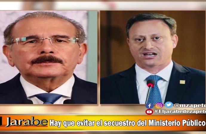 Hay que evitar el secuestro del Ministerio Público | El Jarabe Seg-4 15/07/20