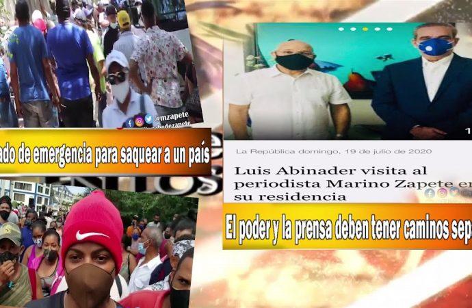 Un estado de emergencia para saquear a un país   El Jarabe Seg-1 20/07/20