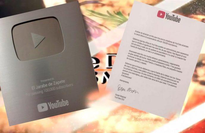 "YouTube reconoce ""El Jarabe de Zapete""   El Jarabe Seg-1 10/08/20"