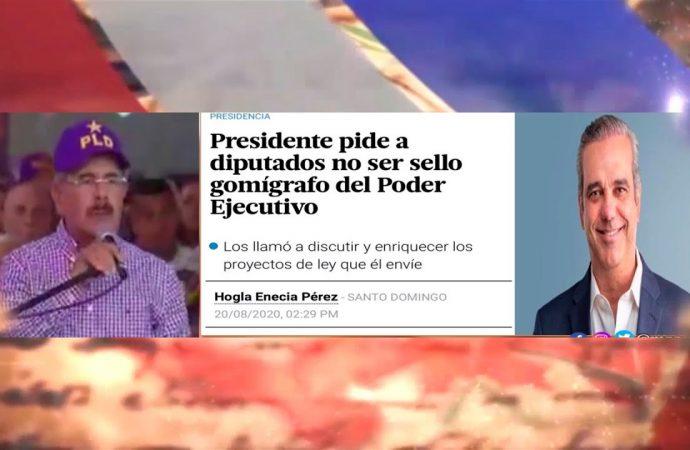 Una diferencia entre Danilo y Abinader | El Jarabe Seg-2 21/08/20