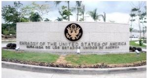Embajada de EE.UU. en RD mantiene suspensión servicios consulares