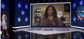 """Trump responde a Michelle Obama: """"No estaría en la Casa Blanca si no fuese por la gestión de su marido"""""""