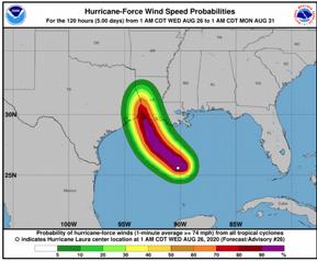 Laura podría ser un catastrófico huracán de categoría 4