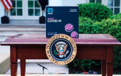 EEUU compra 150 millones de tests rápidos de COVID-19 en medio de polémica