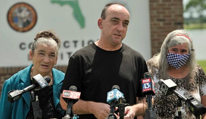 Hombre inocente sale libre tras 37 años de cárcel en Estados Unidos