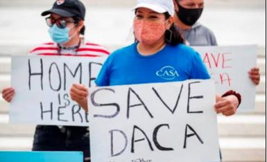 """Demandan ante tribunal federal el memorándum de Trump contra los """"soñadores"""""""