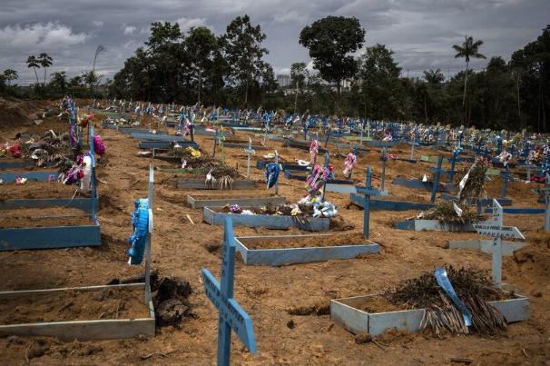 Brasil registra 566 muertes por COVID-19 en las últimas 24 horas