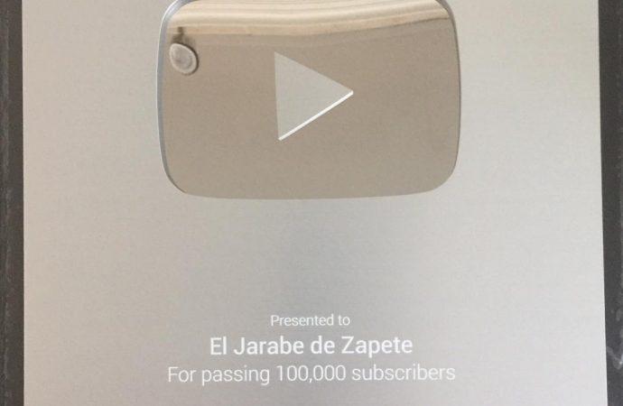 """YouTube reconoce """"El Jarabe de Zapete"""""""
