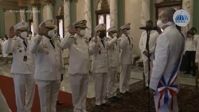 Estos serán los jefes de la Fuerza Aérea, Armada, Ejército y el director de la Policía