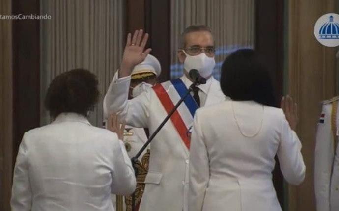 Luis Abinader dice a Miriam Germán Brito que su única guía será la Constitución y las leyes