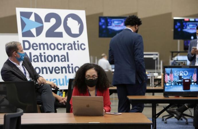 Los demócratas dejan a un lado sus diferencias para cerrar filas con Joe Biden