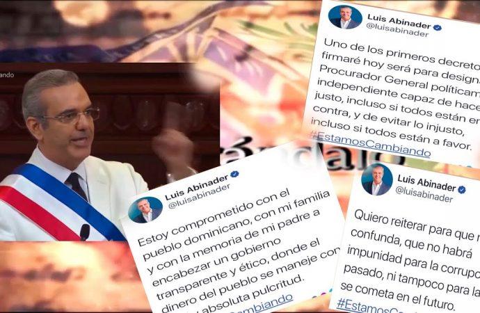 Abinader se obligó a sí mismo a la transparencia   El Jarabe Seg-3 17/08/20